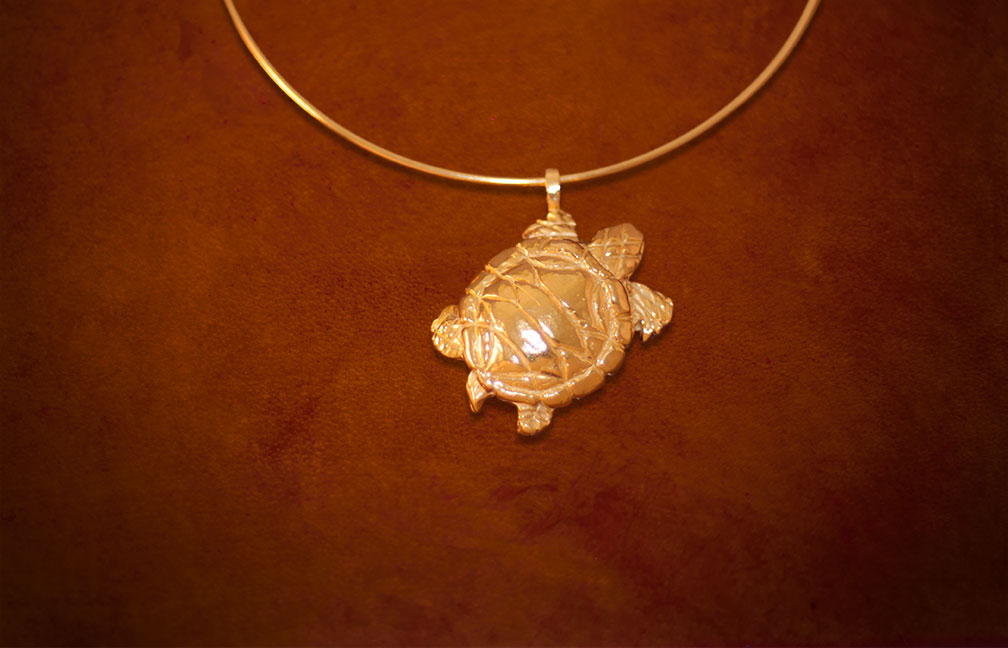 turtle-gold