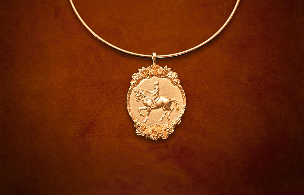 horse-rider-gold